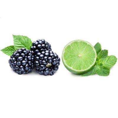 Fruchtzubereitung für Joghurt Brombeere Limette
