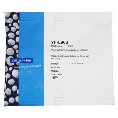 Hansen XF_L903 Joghurtkultur für Schafsmilch