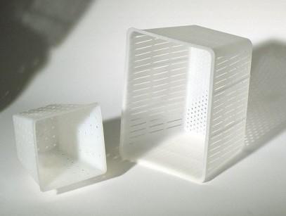 Quadratische Käseform