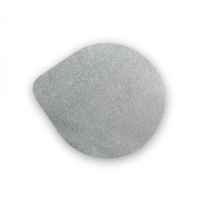 Platinen unbedruckt silber 95,5 mm