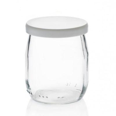 Joghurtglas 143 ml inkl. Verschlusskappe