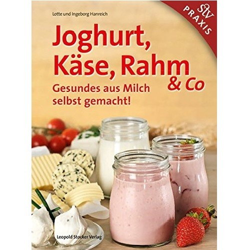 Joghurt Käse Rahm Buch