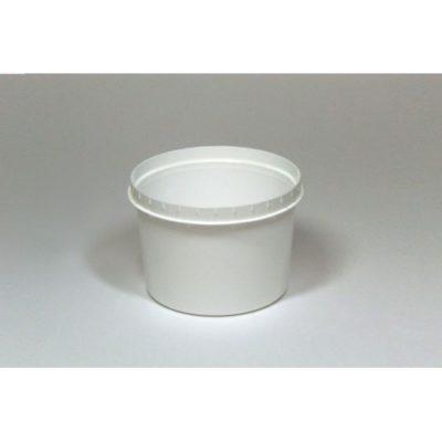 Traiteurbecher 200 ml weiß
