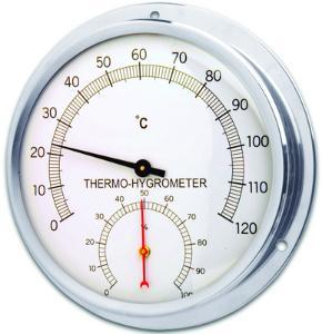 Thermohygrometer rund
