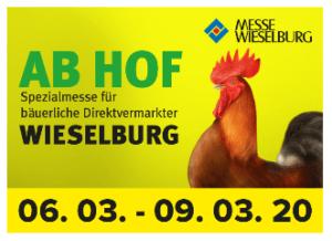 AB HOF – Spezialmesse für bäuerliche Direktvermarktung 2020