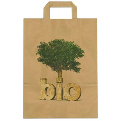 Papiertragetasche BIO Baum